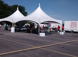 Tents with Sides available in 20×30 and 20×40 & Bounce house and Tent Rentals in Rochester NY - Wilshire